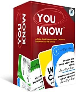 You Know Social Skills Games and Therapy Games, A Fun Game That Opens Communication and Encourages Meaningful Conversations to Establish Relationships