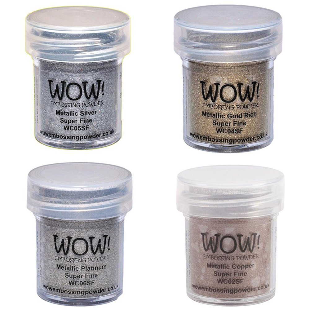 Wow Embossing Powder Metallic Bundle