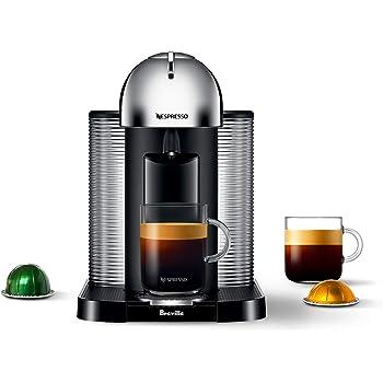 Breville-Nespresso USA BNV220CRO1BUC1 Vertuo Coffee and Espresso Machine, normal, Chrome