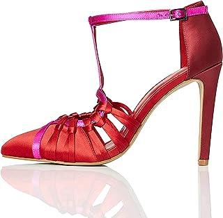 Marca Amazon - TRUTH & FABLE Zapatos de Dama de Honor Mujer
