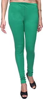 TRASA Ultra Soft Cotton Churidar Solid Regular and Plus 35 Colours Leggings for Womens and Girls- Sizes :- M, L, XL, 2XL, ...