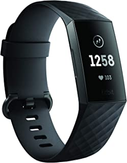 Fitbit Charge 3 Health & Fitness Tracker - Graphite/Black
