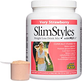 PGX by Natural Factors, SlimStyles Drink Mix, Supports Healthy Weight Management and Helps Reduce Appetite,...