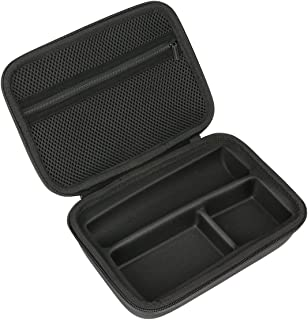 Khanka Hard Travel Case Replacement for Philips Norelco Multigroom Series 3000, MG3750 (Fits 13 attachments,Multigroom Trimmer not included)