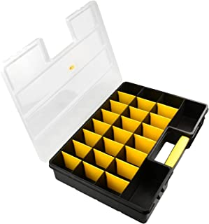 SE 26 Compartment Plastic Storage Box with Adjustable Sections