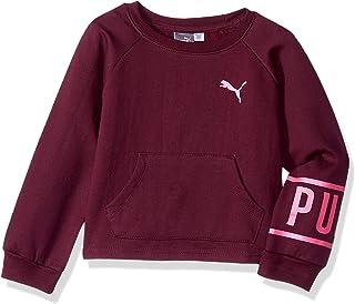 PUMA Little Girls' Fleece Sweatshirt