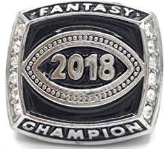 Fantasy Carnival 2018 Fantasy Football Champion Championship Ring Trophy Prize Draft