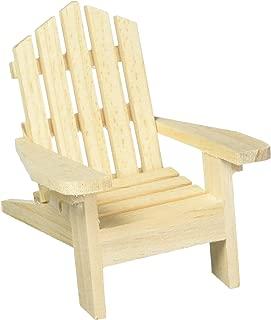 Darice 9132-67 Small Adirondack Wood Chair