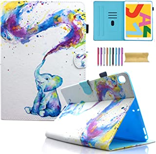 AMOTIE Funda para iPad 10.2 2019/ iPad Air 10.5 2019/ iPad Pro 10.5 2017 – Ultra Slim Ligero Soporte Smart Case Shell para...