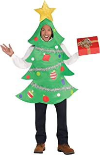 amscan Christmas Tree Costume for Adults, Standard, with Included Accessories