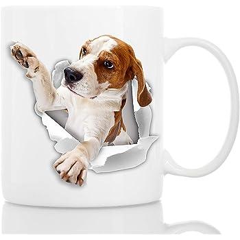 Beagle Dog Mug,Gifts For Dog Lovers,Christmas Gifts,Beagle,Dog,Mugs,Gifts