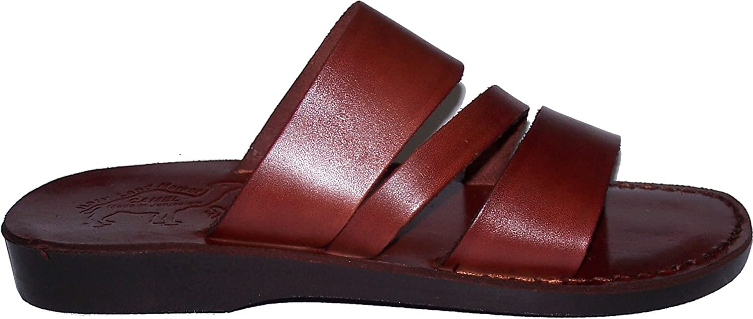 Camel shoesmaker Unisex Outdoor Leather - The Shepherd Style I - Biblical Sandals - Sandals from The Holy Land