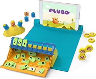 Shifu Plugo STEM Pack - Count, Letters & Link   Math, Word Building, Magnetic Blocks, Puzzles & Games   Ages 5-10 Years In...