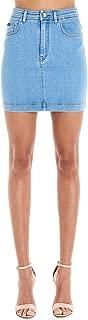 Dolce e Gabbana Luxury Fashion Womens F4BR7DG899AB3681 Light Blue Skirt |