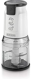 Black+Decker Vertical Dual Blade Chopper Plus Extra Jar - Fc300Pr-B5, White, 500 W, 500 ml, 2 Year Warranty