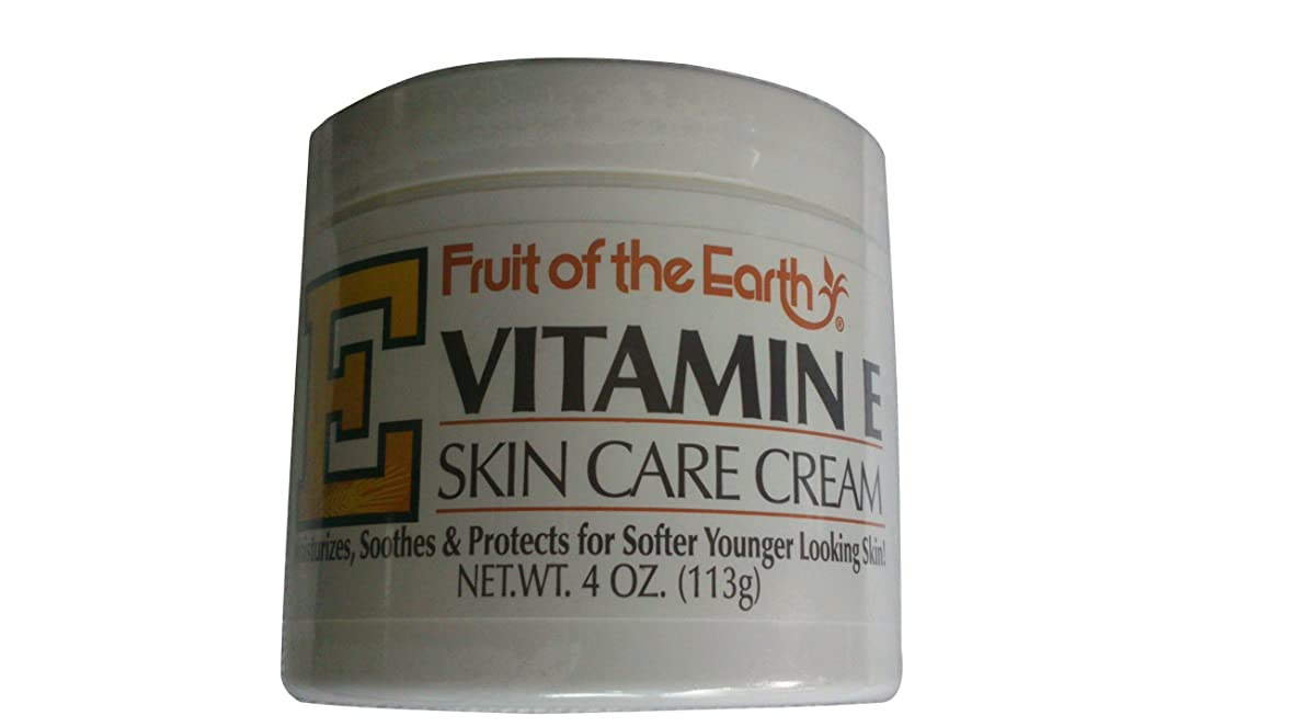 作動する比べる然とした海外直送品Fruit Of The Earth Fruit Of The Earth Vitamin E Skin Care Cream, 4 oz