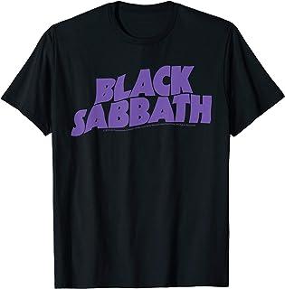 Black Sabbath Purple Logo T-Shirt T-Shirt