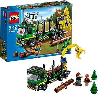 LEGO City - Camión de transporte de troncos