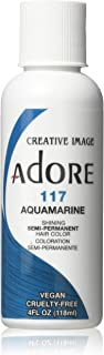 Adore Creative Image Hair Color #117 Aquamarine,4 Ounce