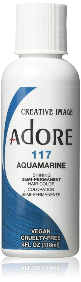 送料ブリーフケース運動するShining Semi-Permanent Hair Color - Aquamarine - 118ml by Shinning Colors