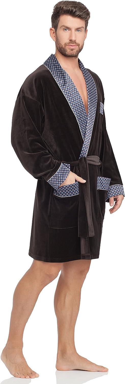Timone Robe de Chambre en Velours V/êtement dInt/érieur Homme 772