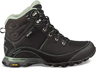 Teva Women's Sugarpine II WP Ripstop Hiking Boot, Black/Green Bay