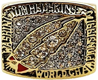 MVPRING Super Bowl 1966-2019 Replica Championship Ring: New England Patriots Philadelphia Eagles Denver Broncos Chicago Bears New Orleans Saints Seahawks