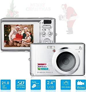 HD Mini Digital Cameras,Point and Shoot Digital Video Cameras-Travel,Camping,Gifts