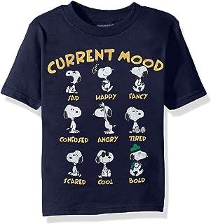 Peanuts Toddler Boys' Snoopy Short Sleeve T-Shirt