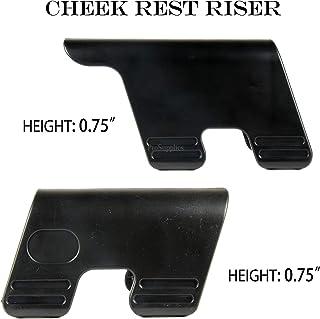 "TACFUN Tactical Cheek Rest Riser - Hight 1.25"" and 0.75"" 2pcs Combo"