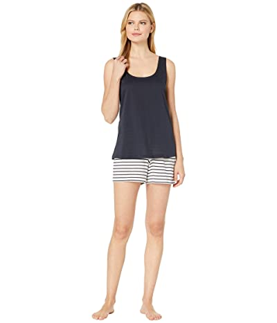 Hanro Laura Short Pajama (Midnight) Women