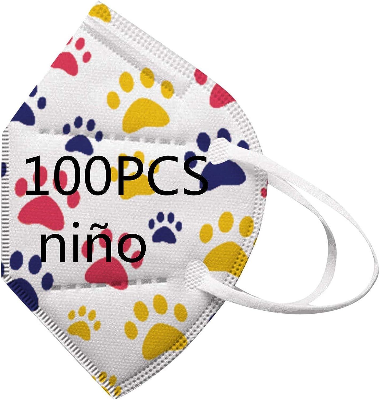 TWBB Protector de Nariz y Boca Pack 30/50/100unidades para niños, 1029-TWBB-109