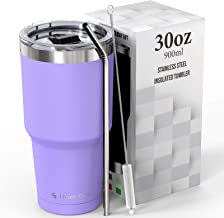 Umite Chef 30 oz Tumbler, Stainless Steel Vacuum Insulated Travel Tumbler Mug with lid, Double Wall Tumbler Coffee Mug Cup...