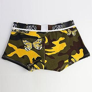 Ruiyue Fashion Underwear, Print Boxer Briefs Shorts Bulge Pouch Underpants for Men