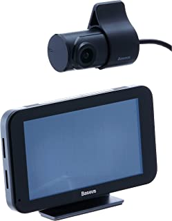 "Baseus Cloud Voice Car Video Recorder (Built-in Tmall Genie +4.39""Touch Screen +4G System +AHD1080P) Black"