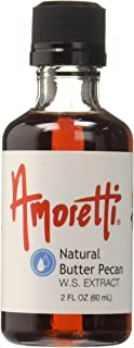 Amoretti Extract, Natural Butter Pecan, 2 Ounce
