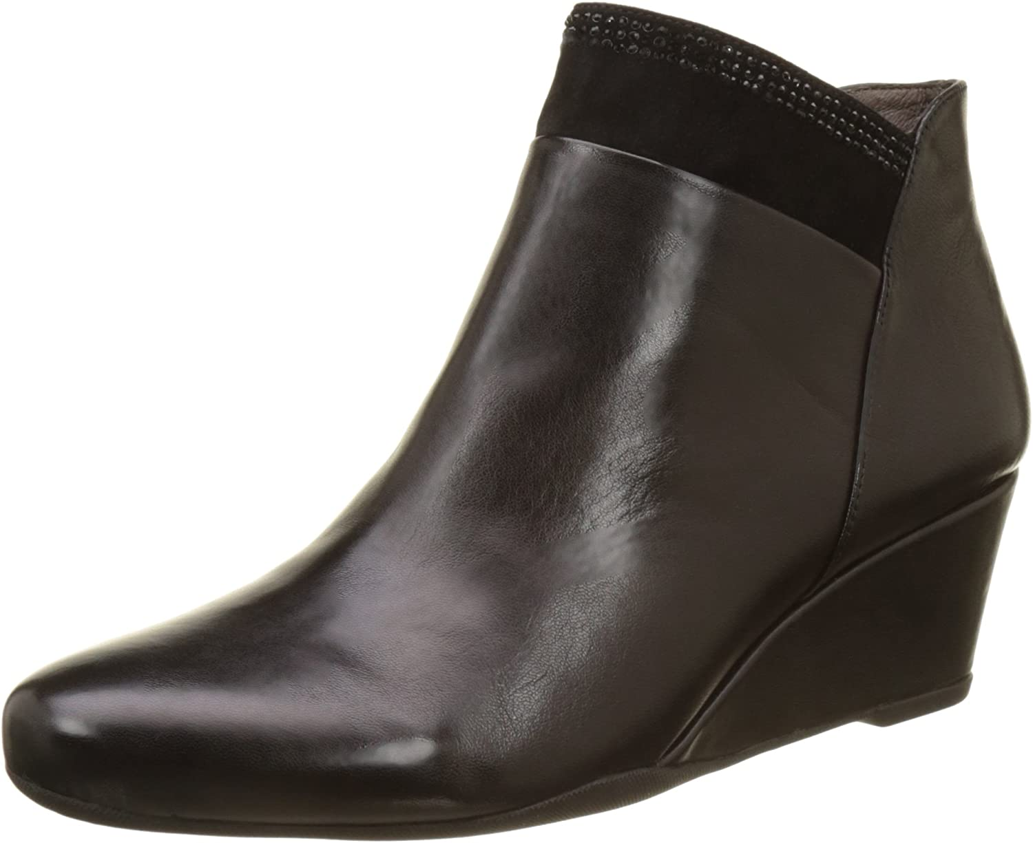 Stonefly Women's High quality Soldering Emily 14 Nappa Boots Chelsea 36.5 Black