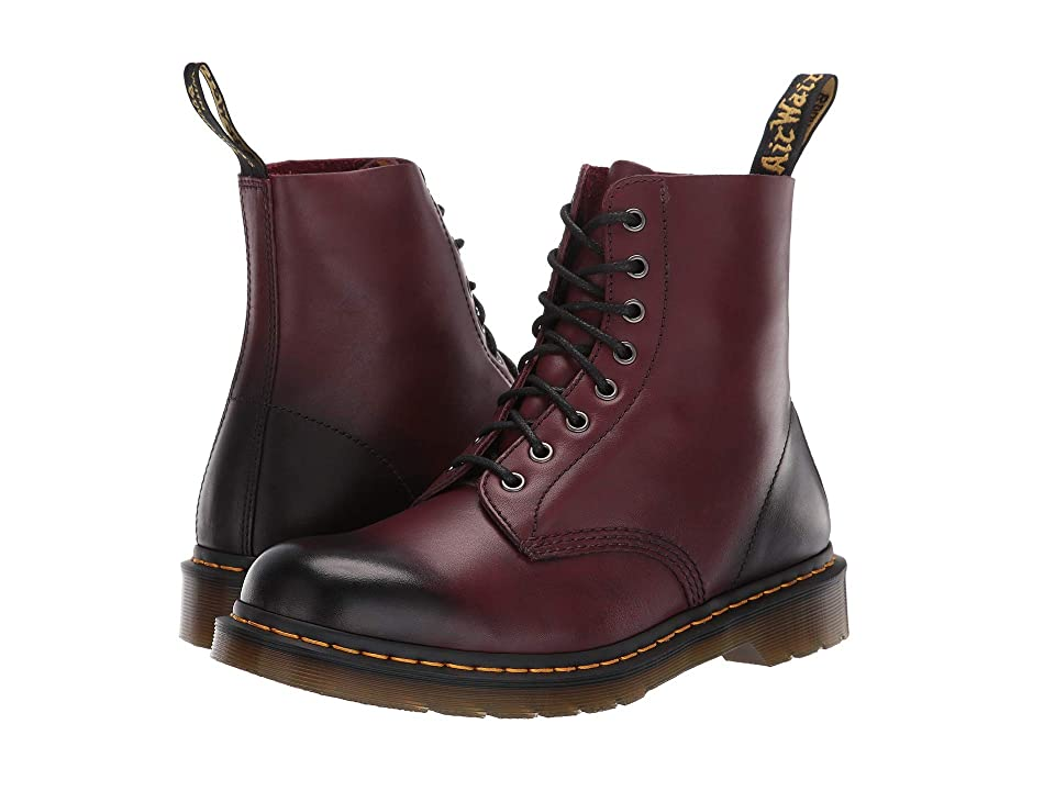 Dr. Martens Pascal 8-Eye Boot (Cherry Red Temperley) Men