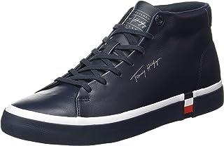 Tommy Hilfiger Herren Corporate High Modern Vulc Lea Sneaker