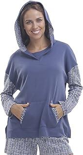 jijamas Incredibly Soft Pima Cotton Women's Pajama & Lounge Hoodie