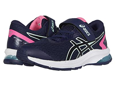 ASICS Kids GT-1000 9 (Toddler/Little Kid) (Peacoat/Black) Girls Shoes