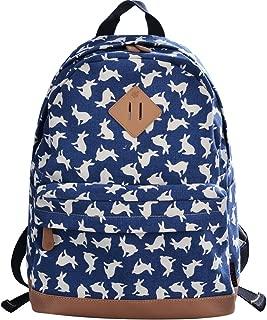 bunny print backpack