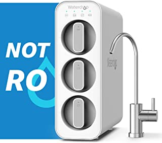 Waterdrop TSC Under Sink Water Filter System, USA Tech, Smart Filter Life Reminder, Remove 99% of Lead, Fluoride, Chlorine...