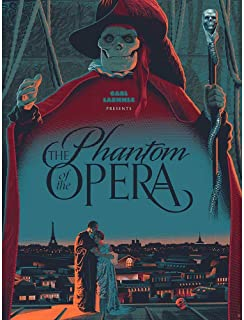 Wee Blue Coo Film Movie Paris Skull Laemmle Phantom Opera Unframed Wall Art Print Poster Home Decor Premium