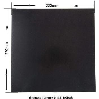 Placa de vidrio para Wanhao i3 Anet a8 Anycubic Plataforma de ...