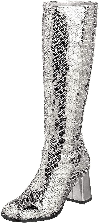Pleaser low-pricing Bordello Women's Spectatcular-300 free Boot Sequin Gogo