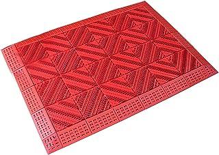 Heavy Duty Outdoor Doormat │Outdoor Rug — Non-Slip Rubber Backed Mat with Rubber Brush │ Dust Control Mat │ Door Matt Outd...
