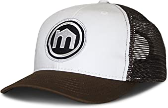product image for Mitscoots Outfitters Brown and White Trucker Logo Hat