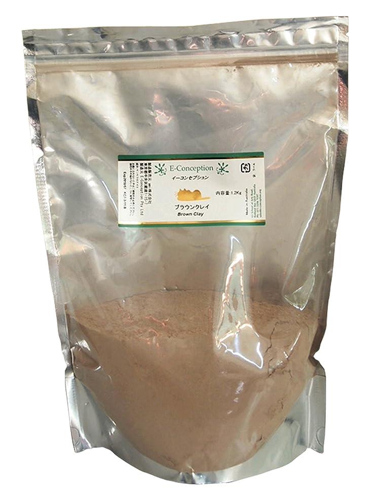 エンドテーブル肉腫フォームICA国際クレイセラピー協会 【ブラウンクレイ】 1200g