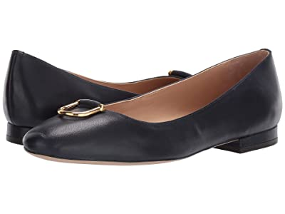 LAUREN Ralph Lauren Galyn (Lauren Navy Super Soft Leather) Women